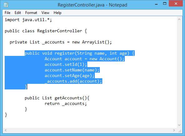 Source code for class kalkulatorprocedurejava