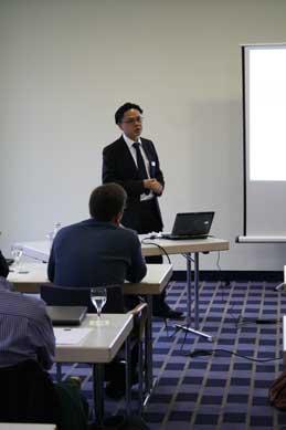 Angus Chan presenting Visual Paradigm Workflow Engine