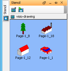 visio shown