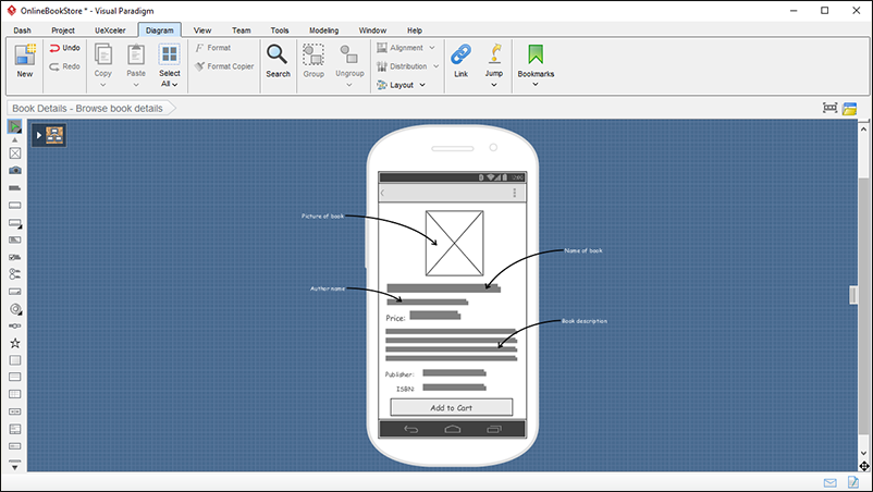 Wireframing - Android