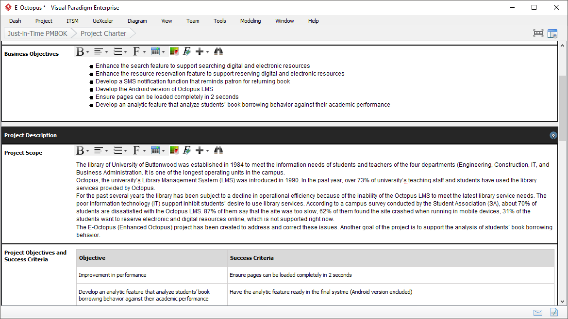 Just in time pmbok template pmbok ea agile for Pmbok lessons learned template