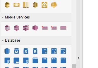 Full set of AWS architecture diagram symbol