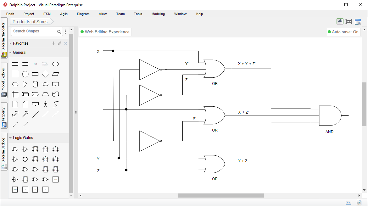 Logic Diagram Tool