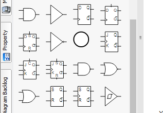 High quality logic diagram symbols