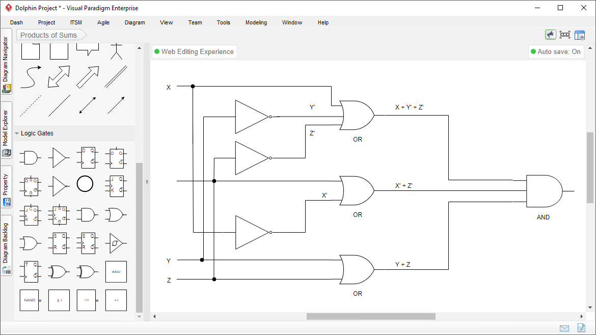 logic diagram tool Flow Paths Diagram