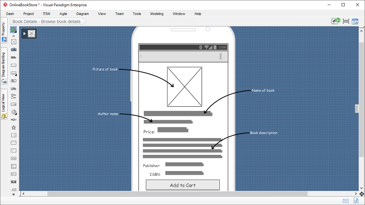 UX Tool: Wireframe & Prototyping Tool