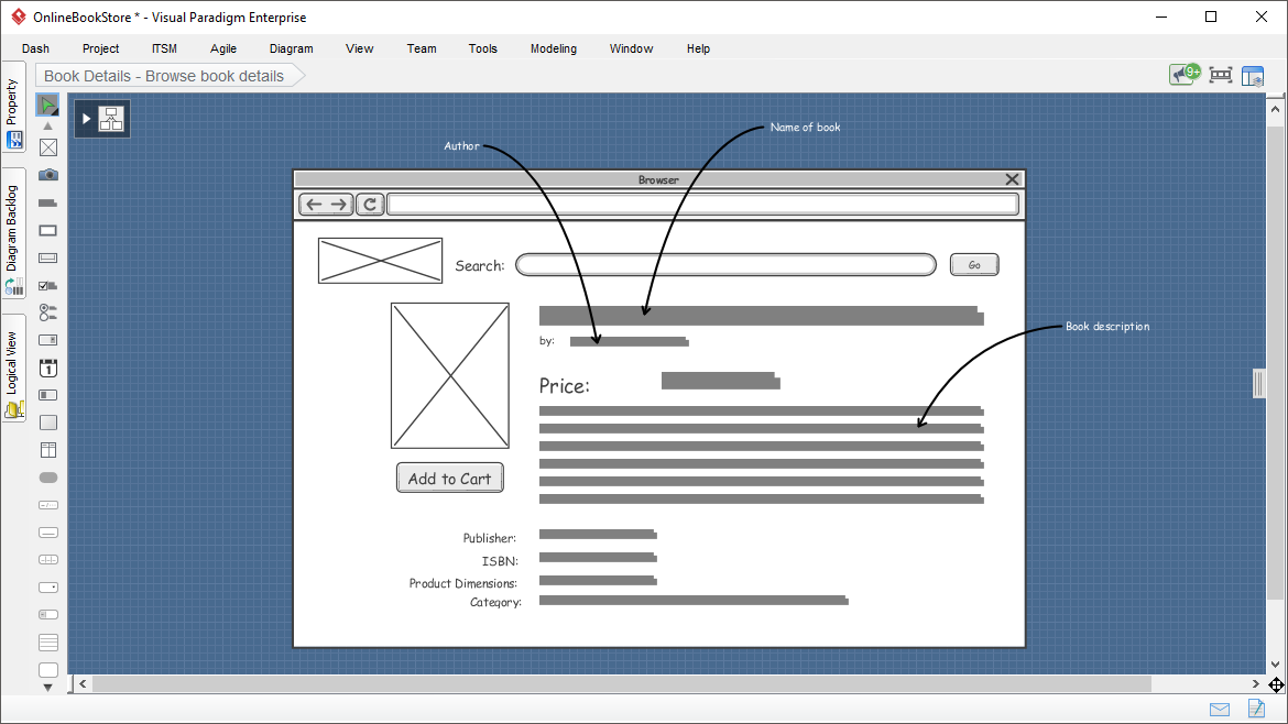 Wireframing - Web Page