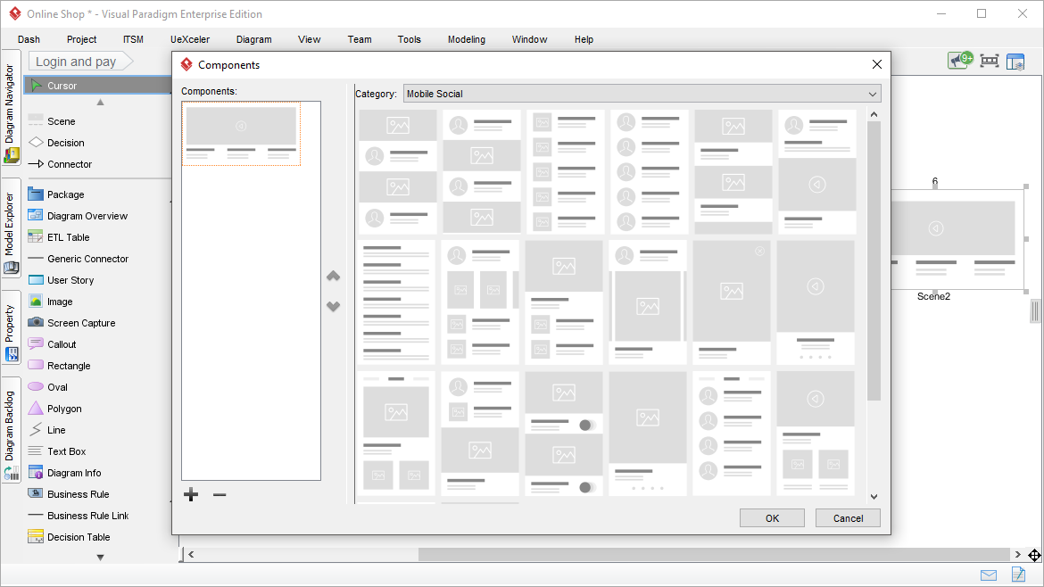 wireflow tool  create flowchart of wireframes