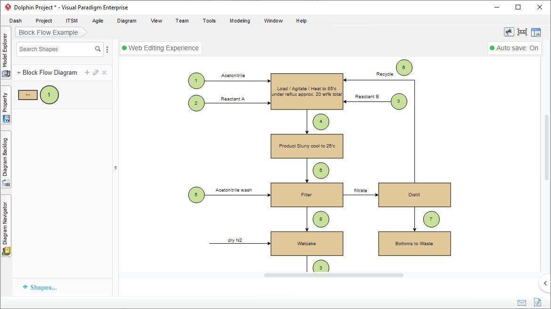 Block Flow Diagram Tool