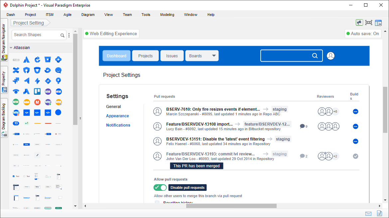 Atlassian Wireframe Tool
