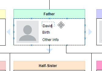 Easy to use family tree editor