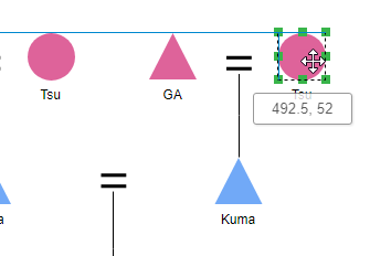 Quick and easy diagram editing