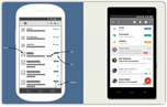 Android Phone Wireframes
