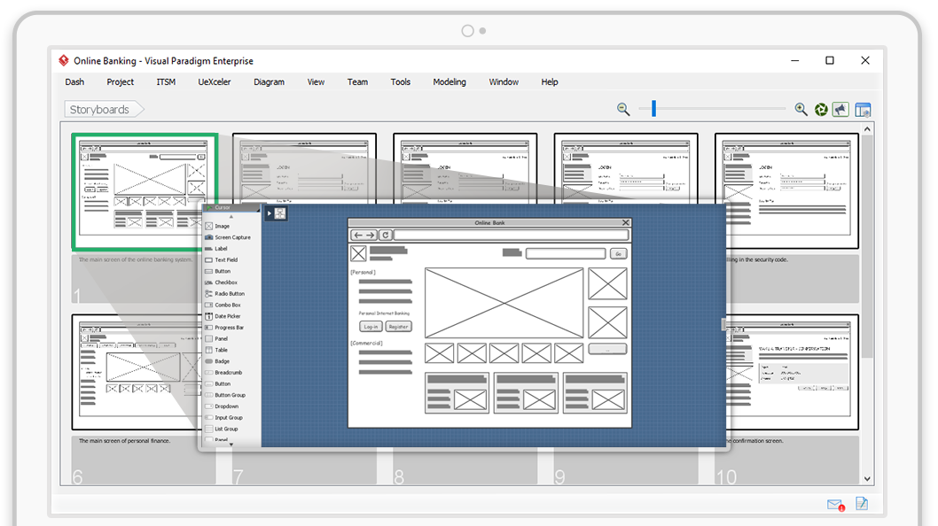 Visual paradigm leading uml bpmn ea agile and project ux design with wireframes ccuart Image collections