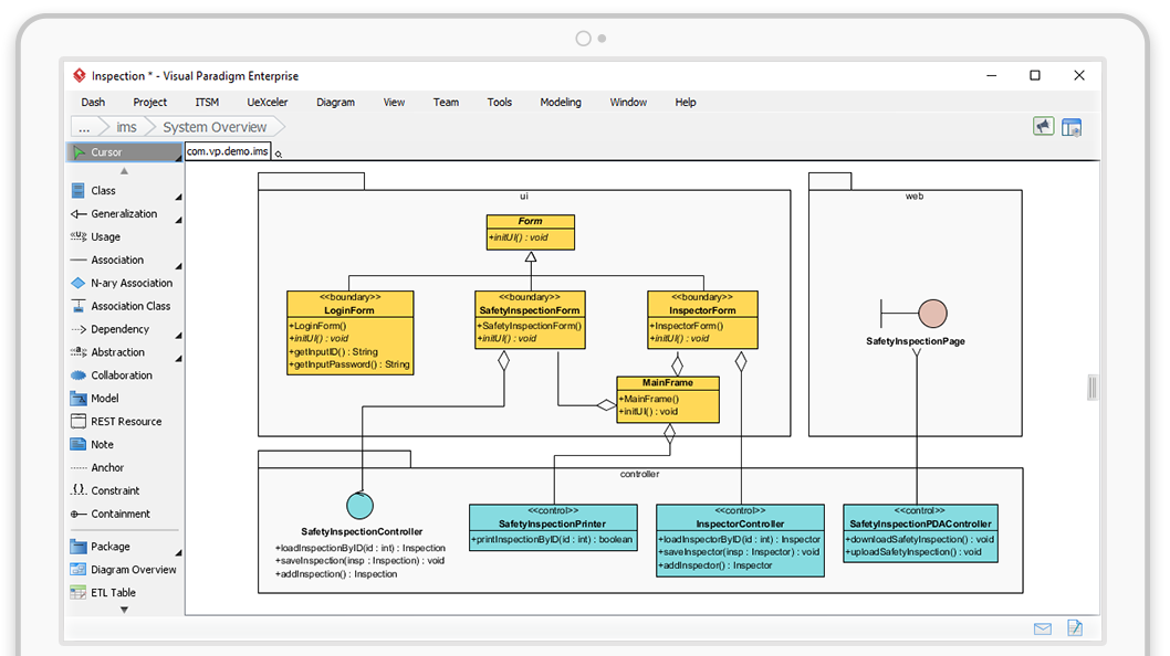 Visual Modeling with UML Tools