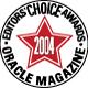 SDE-JD - Oracle Magazine Editors' Choice Award 2004!