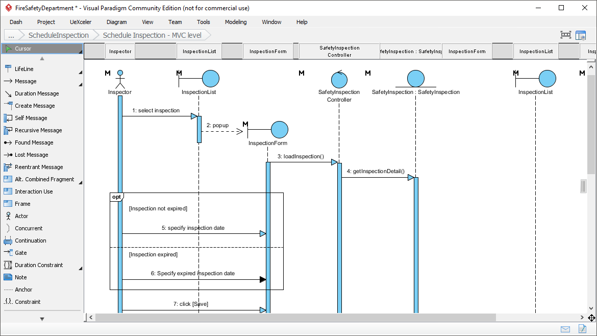 Free uml tool sequence diagram ccuart Gallery