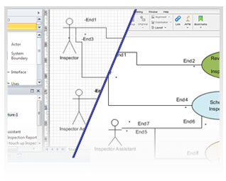 Import visio uml diagrams to professional uml tool ccuart Choice Image