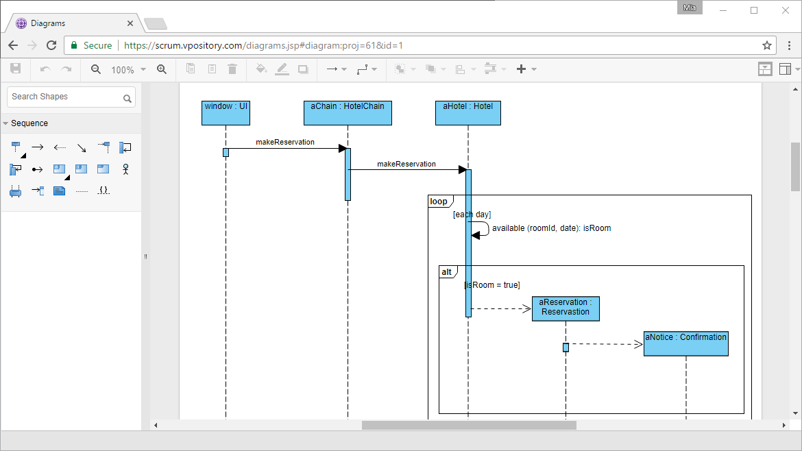 Sequence diagram tool visio online product wiring diagrams best uml tool for visual modeling rh visual paradigm com sequence diagram in visio online create sequence diagrams ccuart Gallery