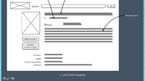 Polished Wireframe Slideshow