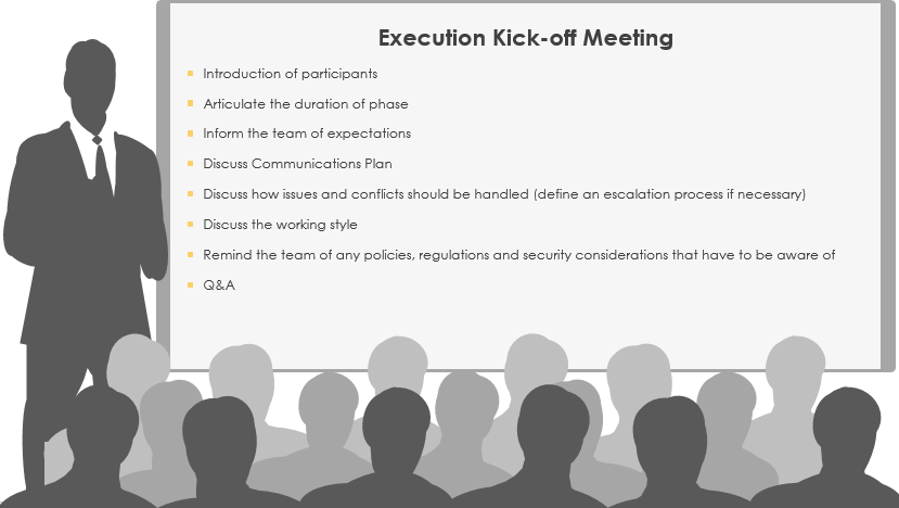 The Execution Kick-off Meeting