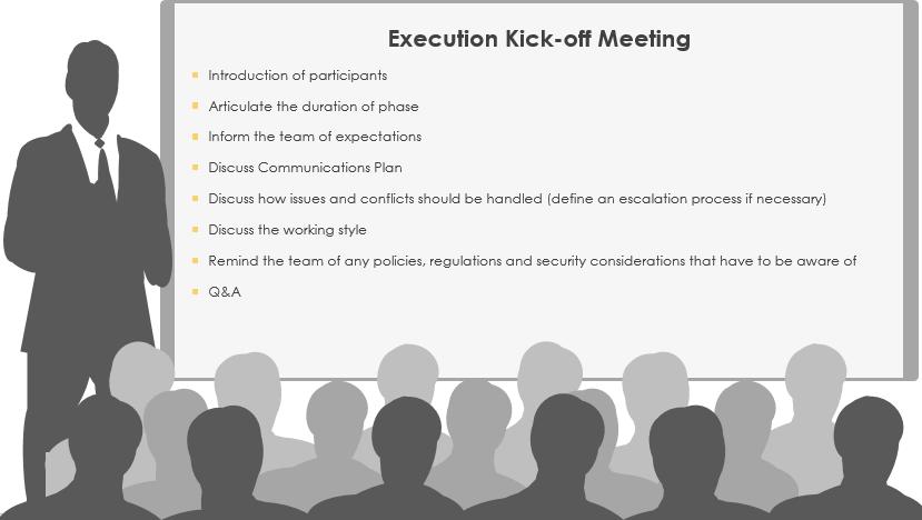 The Execution Kick-off Meeting