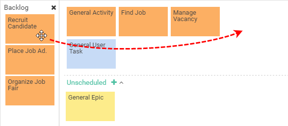 Creating User Activity from Backlog