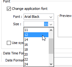 How to change applications font settings change font size ccuart Image collections