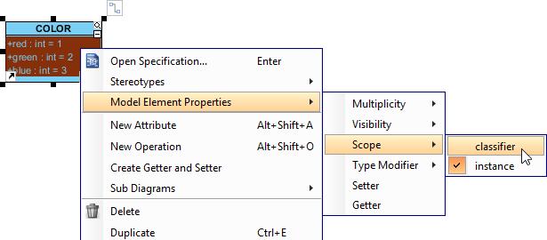 Set attribute scope