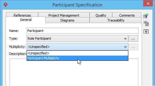 Participant multiplicity