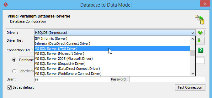 How to generating db specification from database select ms sql pronofoot35fo Gallery