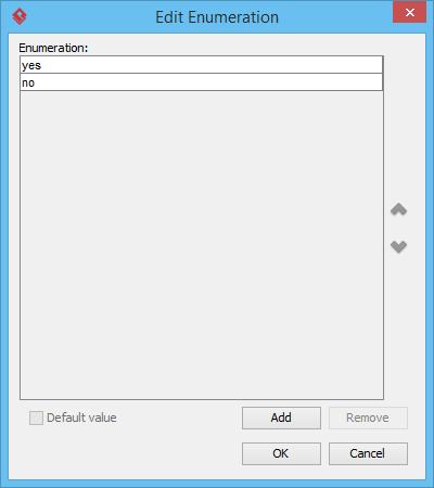 Add enumeration values