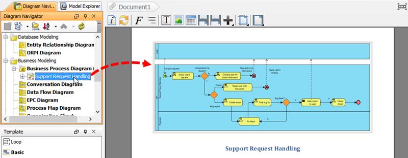 Select diagram