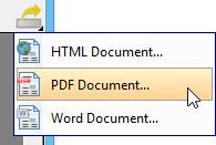 Export PDF document