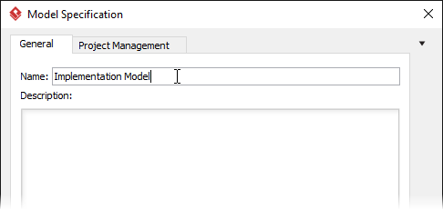 Naming model
