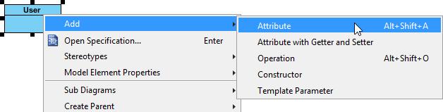 Adding attribute to class
