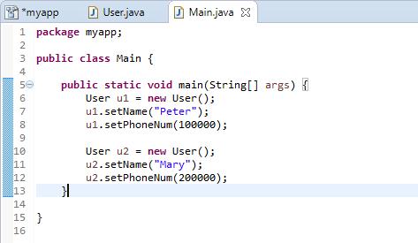 Code modified