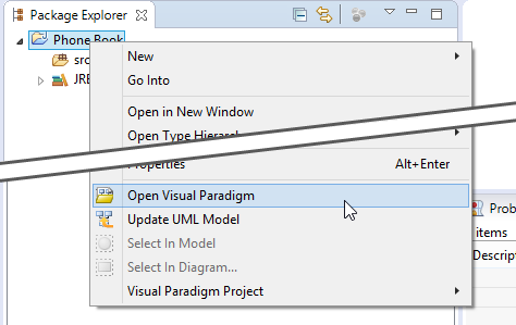 How to keep java and class diagram in sync with round trip engineering opening visual paradigm from eclipse ccuart Gallery