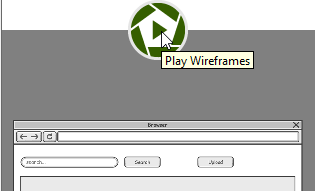 Play wireframe
