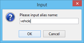 Entering alias