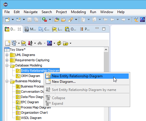 Eclipse tutorial how to access database without sql new entity relationship diagram ccuart