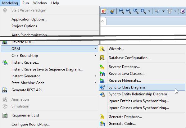 Eclipse tutorial how to access database without sql synchronize erd to class diagram ccuart