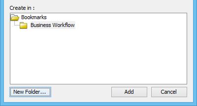 created folder