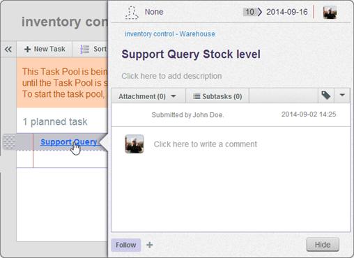 tasifier show detail task pane