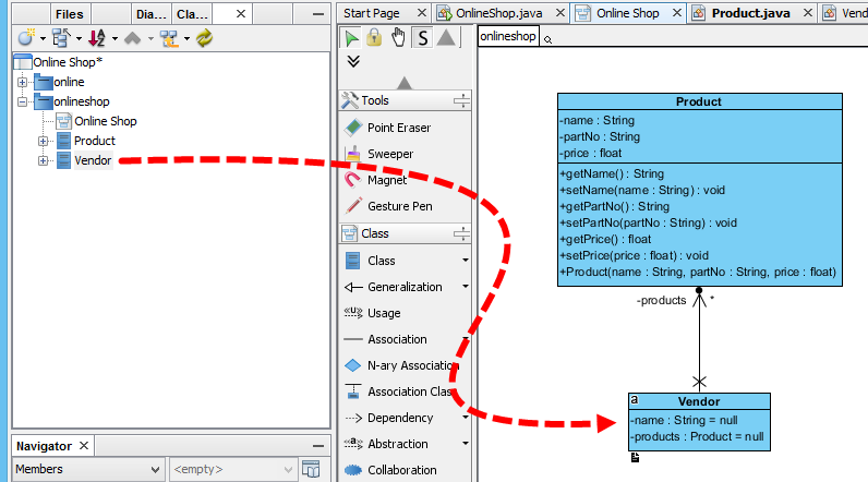 How to Draw UML Diagrams in NetBeans?