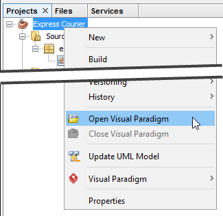 Openopen Visual Paradigm