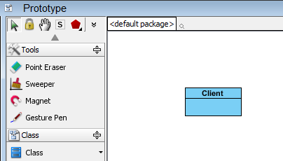 create client class