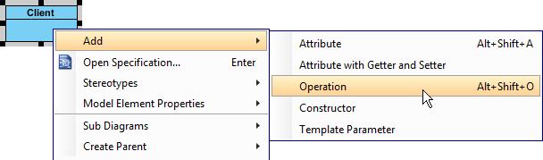 add oper in client
