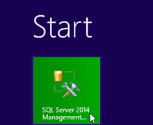 01 launch sql management studio