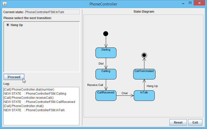 run sample application